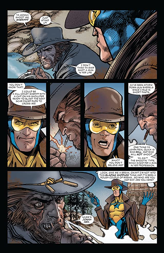 click for super-sized previews of All Star Western (2011-2014) #19