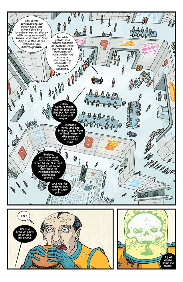 click for super-sized previews of The Manhattan Projects #11