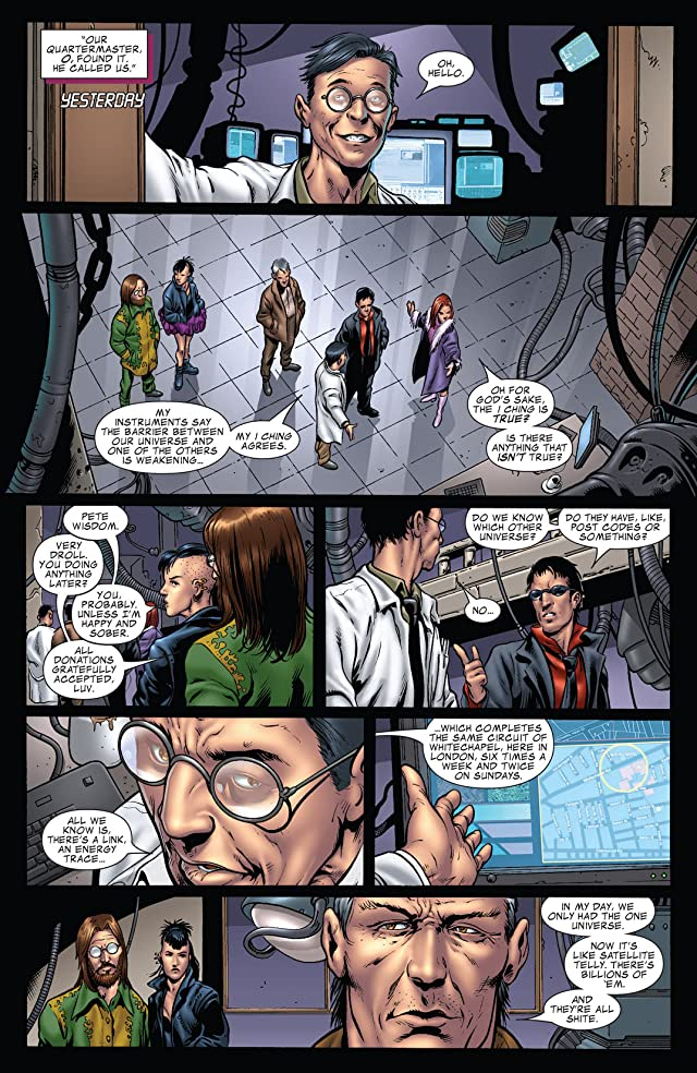 click for super-sized previews of Wisdom #4 (of 6)