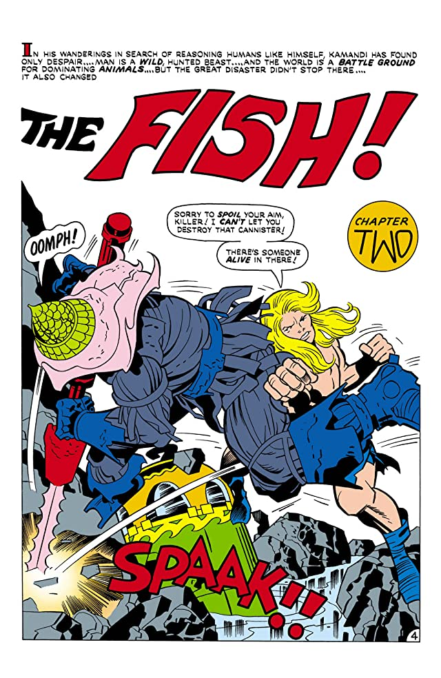 Kamandi: The Last Boy on Earth (1971-1978) #21