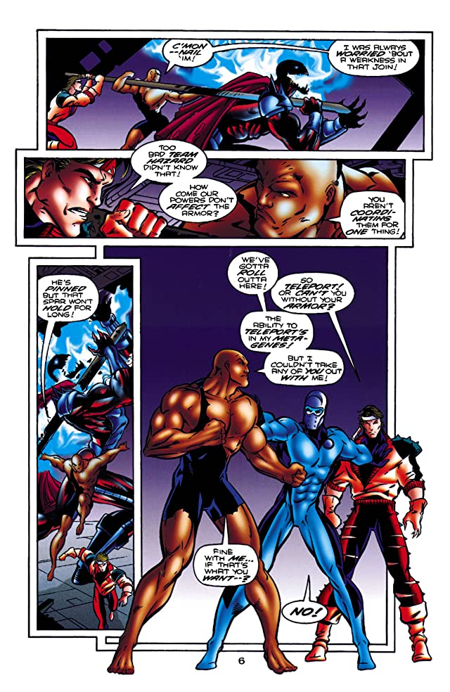 click for super-sized previews of Steel (1994-1998) #31