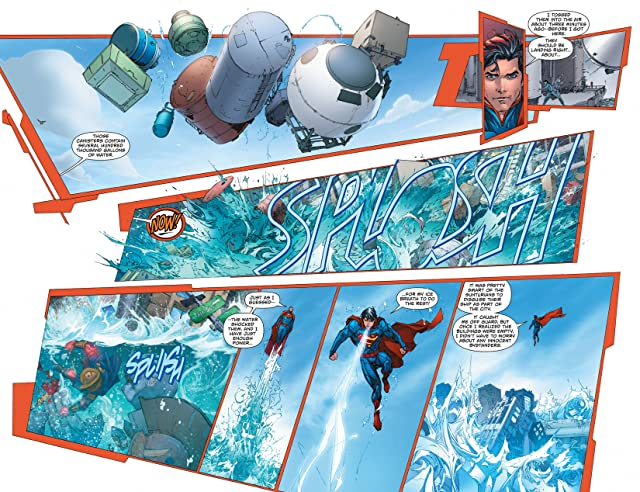 click for super-sized previews of Superman (2011-) #19