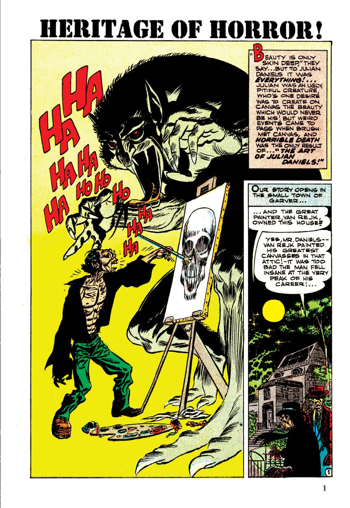 Weird Horrors & Daring Adventures: The Joe Kubert Archives Vol. 1