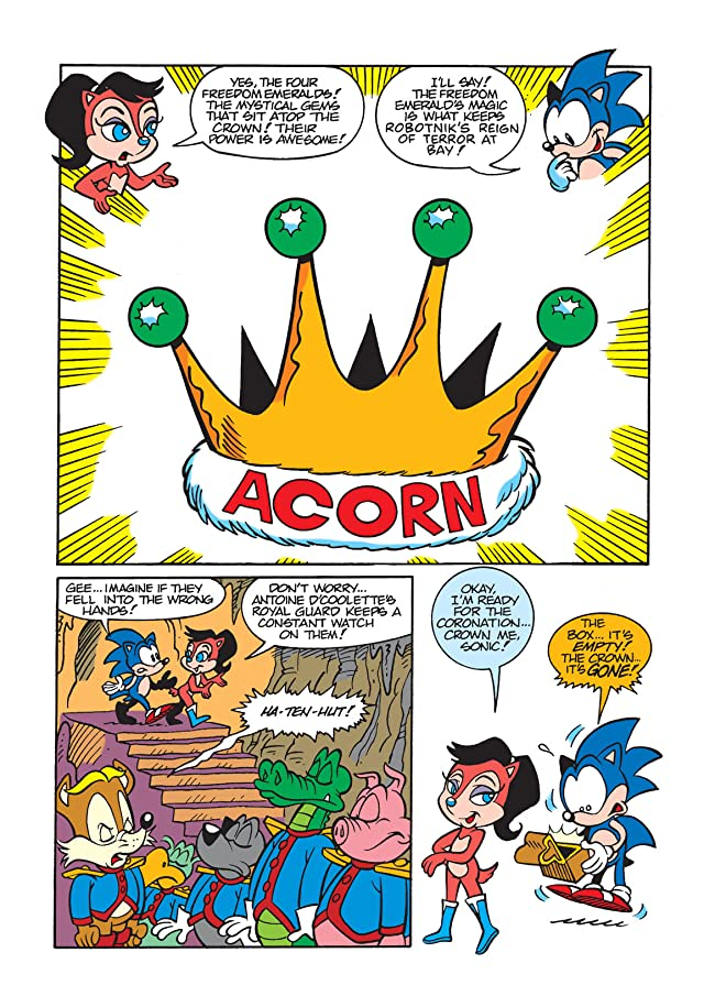 Sonic the Hedgehog Mini Series #2