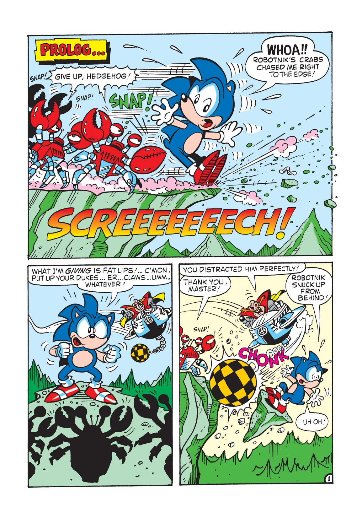 Sonic the Hedgehog Mini Series #3