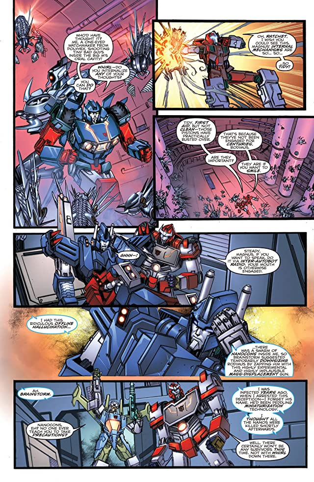 click for super-sized previews of Transformers: More Than Meets the Eye (2011-) Vol. 3