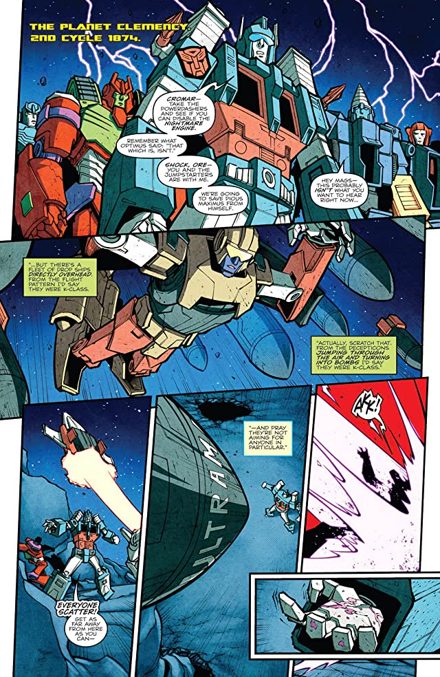 Transformers: More Than Meets the Eye (2011-) #16