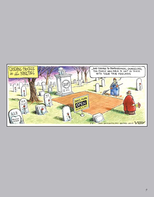 click for super-sized previews of Non Sequitur's Sunday Color Treasury