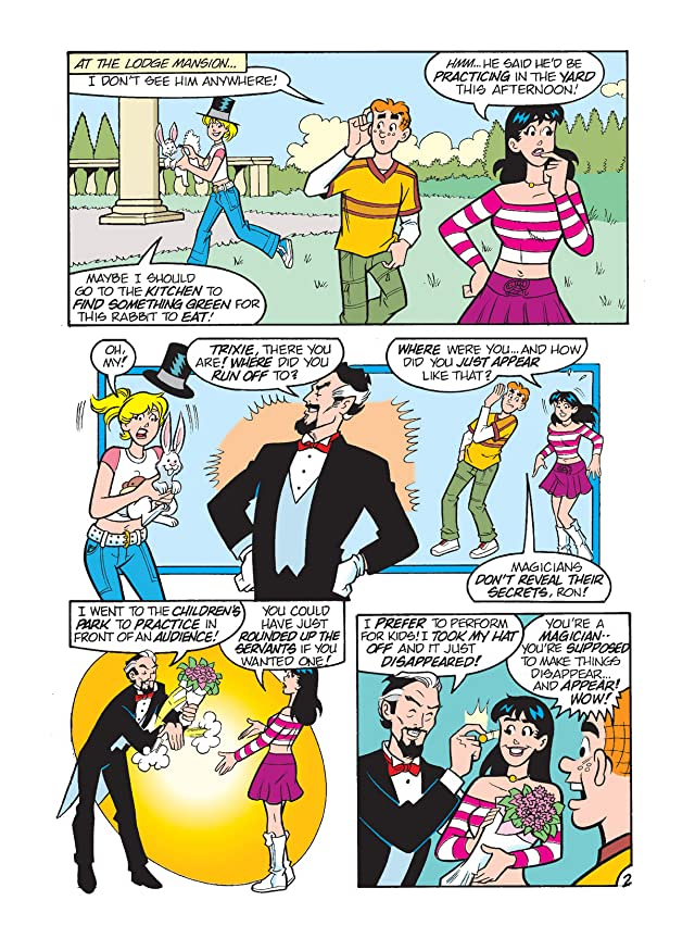 click for super-sized previews of Archie & Friends Double Digest #27