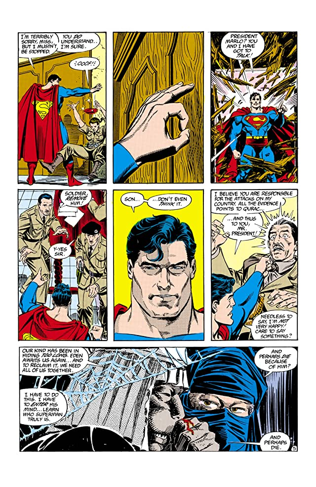 click for super-sized previews of Adventures of Superman (1986-2006) #427