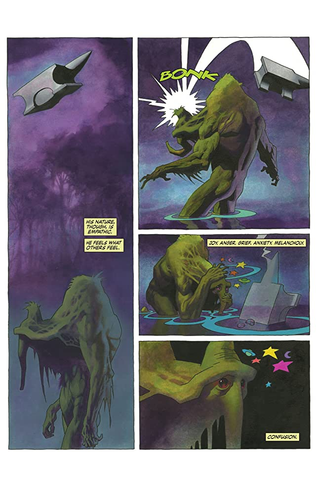 click for super-sized previews of Infernal Man-Thing #1