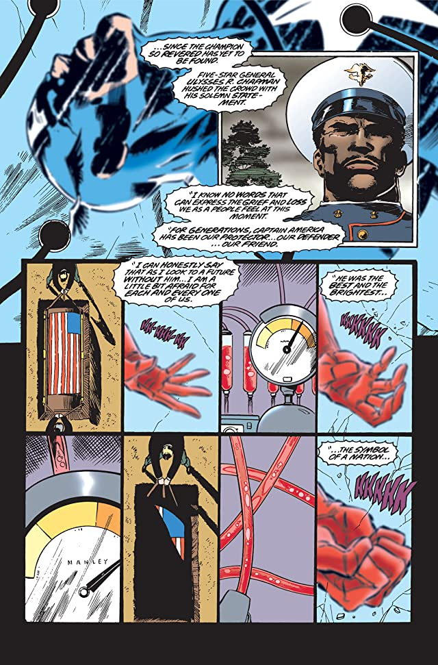 click for super-sized previews of Captain America (1968-1996) #445