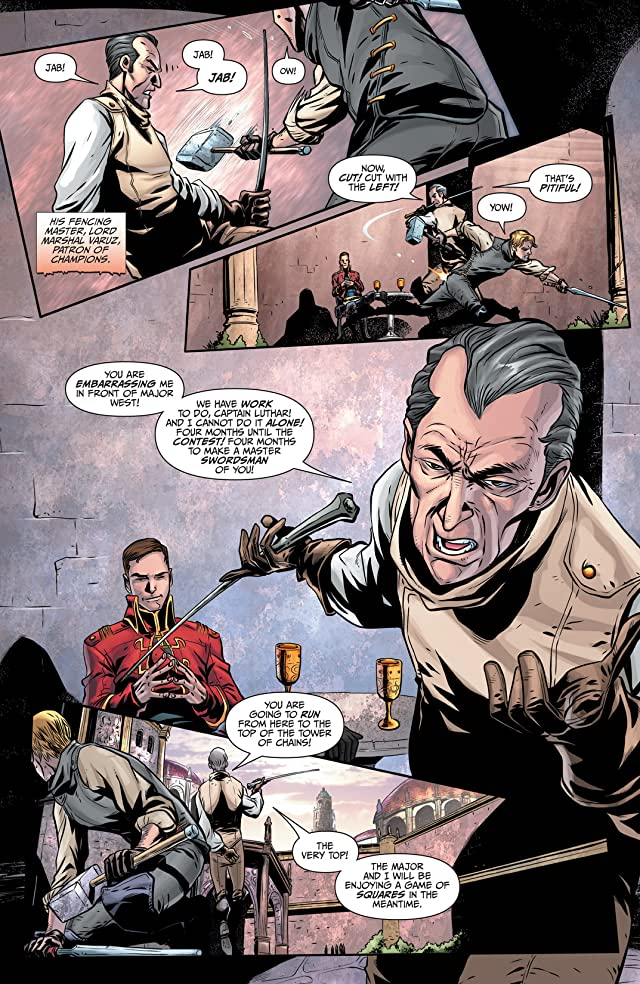 click for super-sized previews of Joe Abercrombie's The First Law: The Blade Itself #2