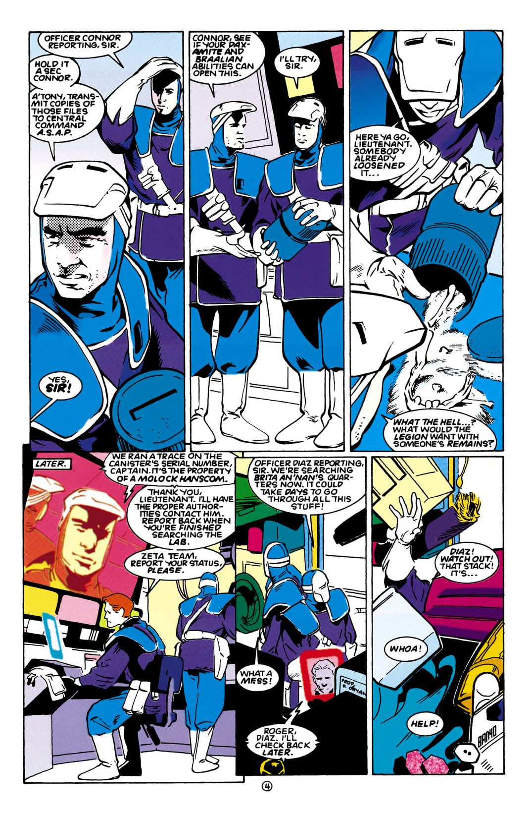 Legion of Super-Heroes (1989-2000) #56