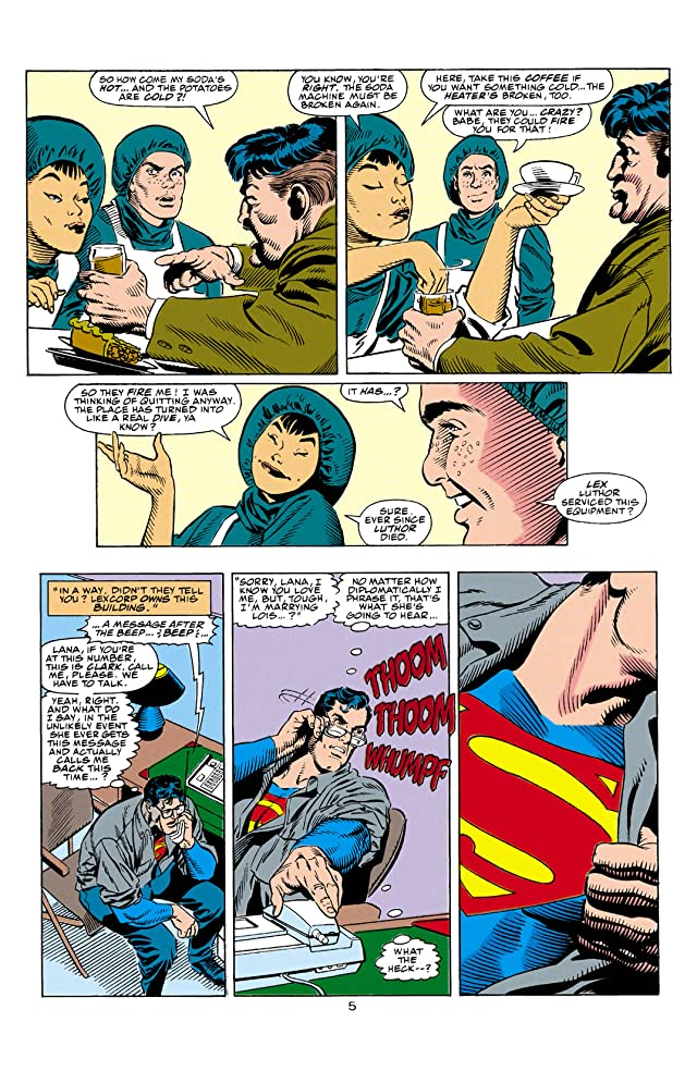 click for super-sized previews of Superman: The Man of Steel (1991-2003) #2