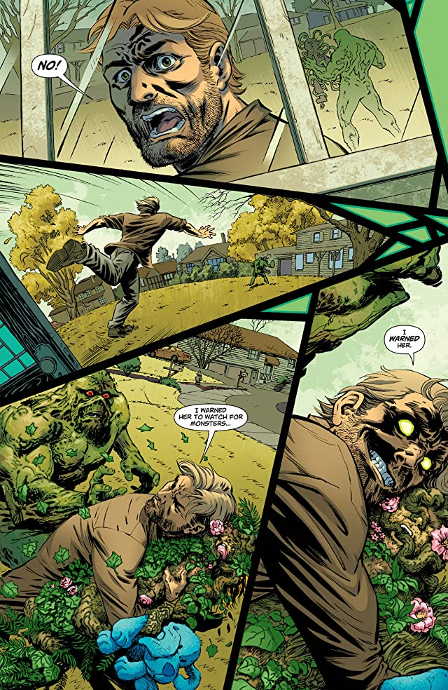 click for super-sized previews of Swamp Thing (2011-2015) #20