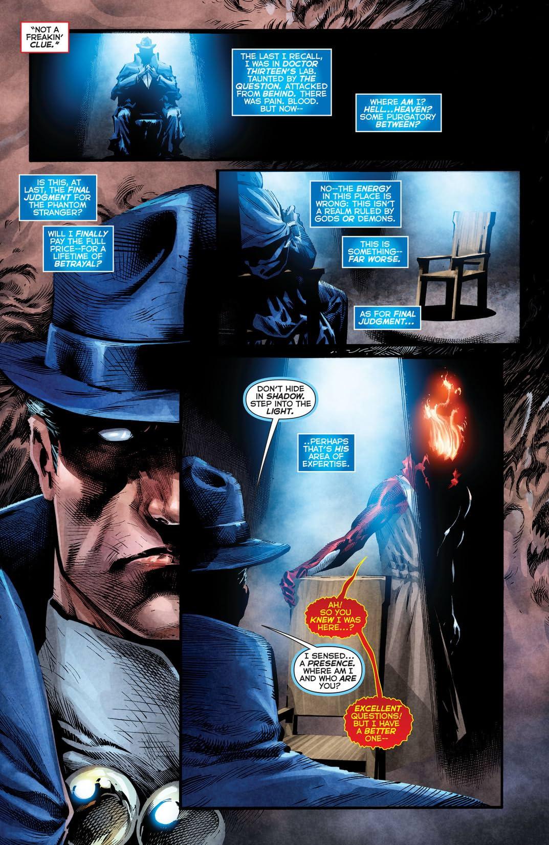 The Phantom Stranger (2012-2014) #8