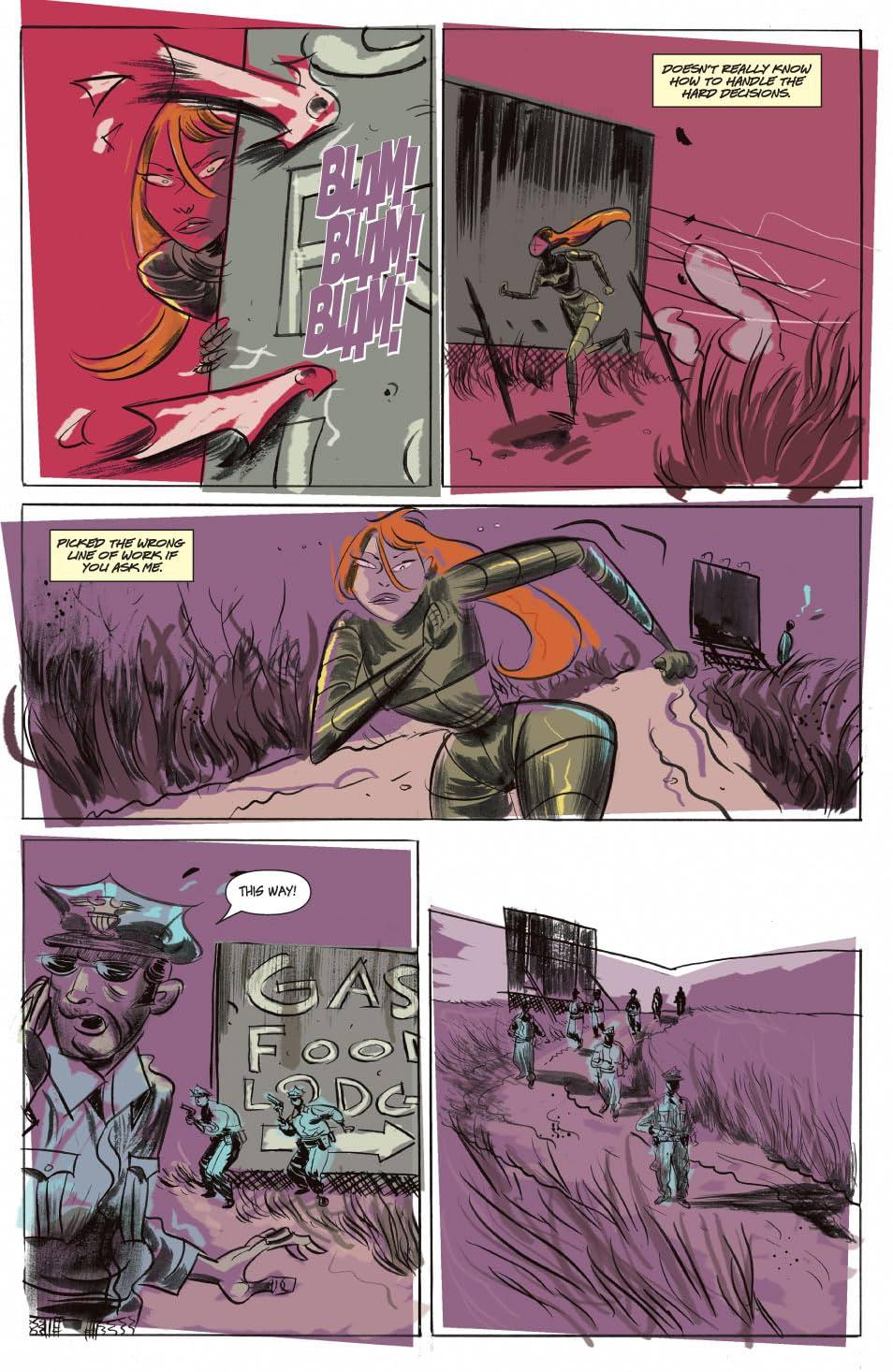 Killing Girl #5 (of 5)