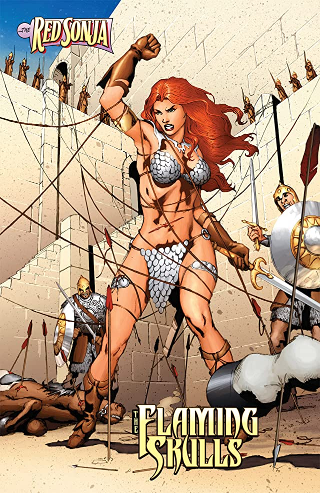 click for super-sized previews of Red Sonja: She-Devil With a Sword #2