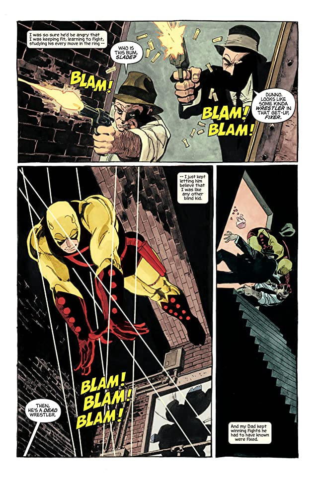click for super-sized previews of Daredevil: Yellow #2
