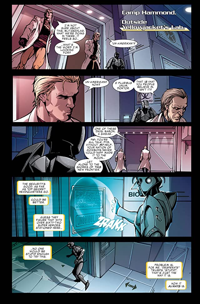 click for super-sized previews of Avengers: The Initiative #4