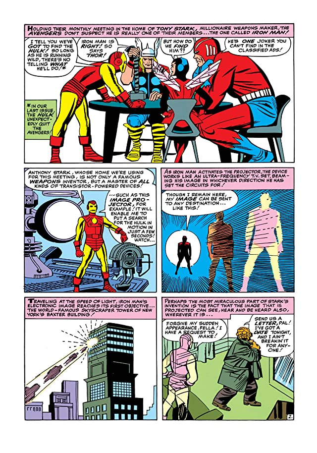 click for super-sized previews of Avengers (1963-1996) #3