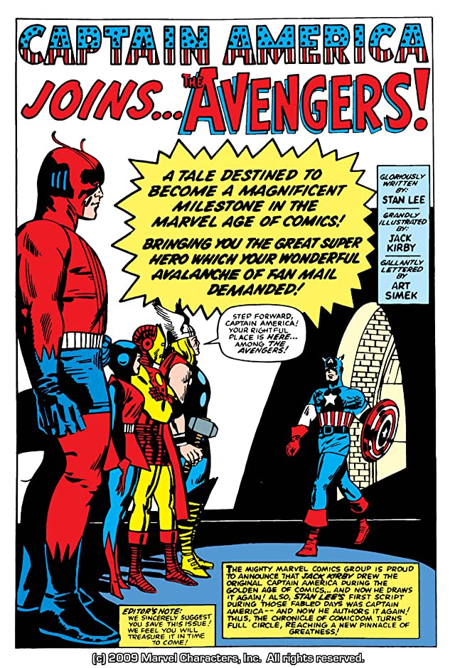 click for super-sized previews of Avengers (1963-1996) #4