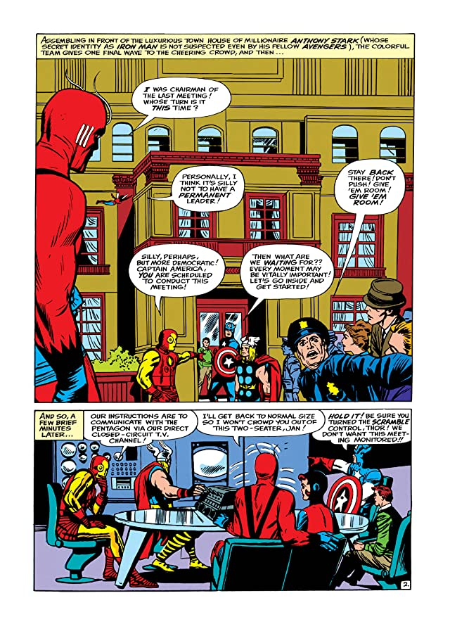 click for super-sized previews of Avengers (1963-1996) #8