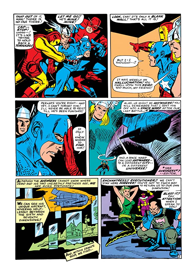 click for super-sized previews of Avengers (1963-1996) #9