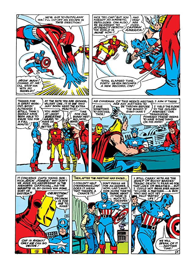 click for super-sized previews of Avengers (1963-1996) #10