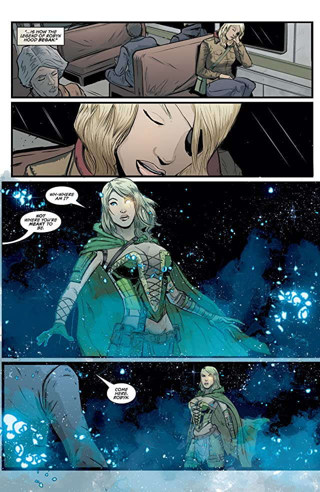 click for super-sized previews of Robyn Hood #1: Wanted