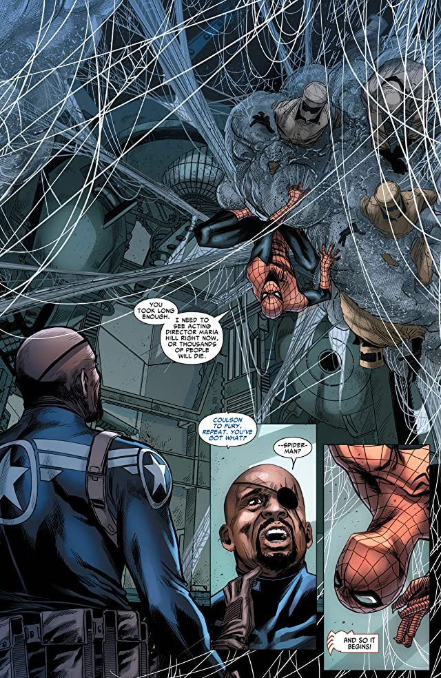 click for super-sized previews of Avenging Spider-Man (2011-2013) #20
