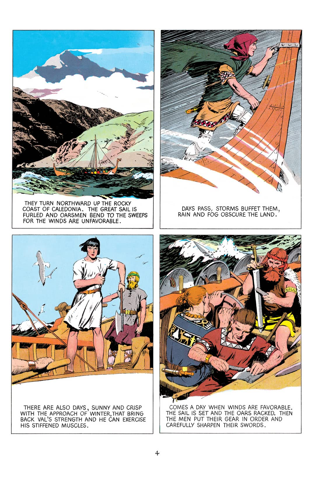 Prince Valiant Free Comic Book