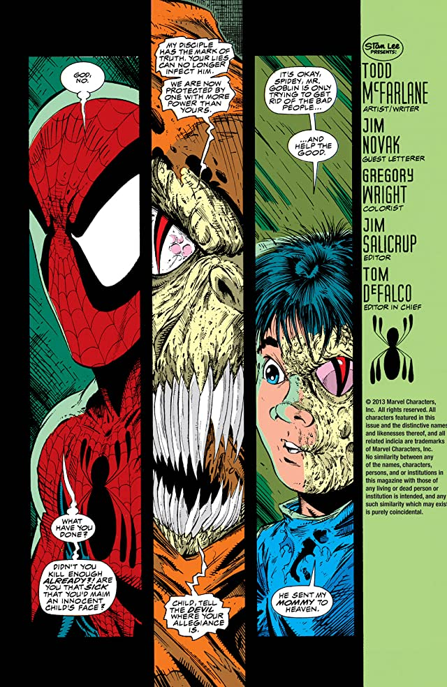 click for super-sized previews of Spider-Man (1990-1998) #7