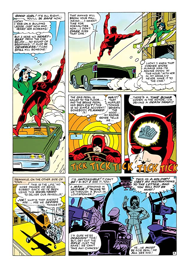 click for super-sized previews of Daredevil (1964-1998) #8