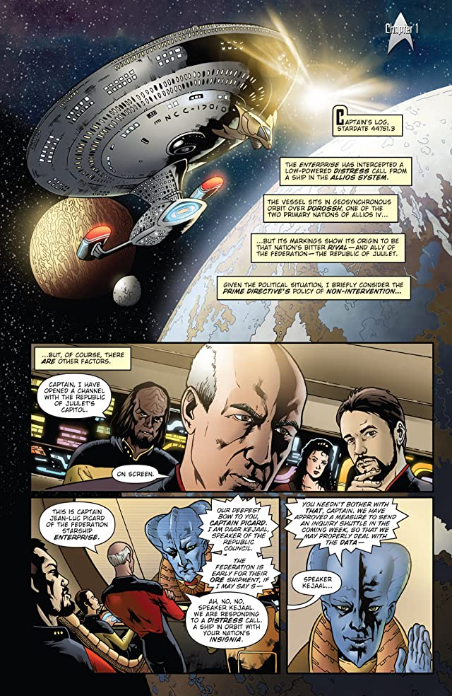 Star Trek: The Next Generation - Ghosts Vol. 1