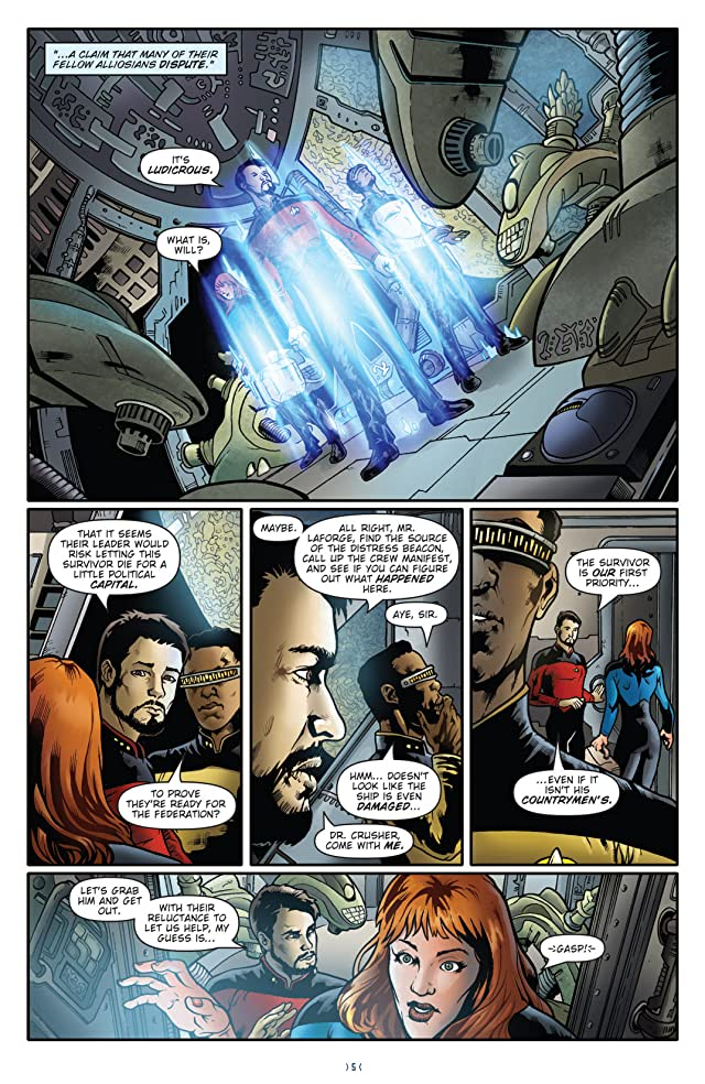 click for super-sized previews of Star Trek: The Next Generation - Ghosts Vol. 1