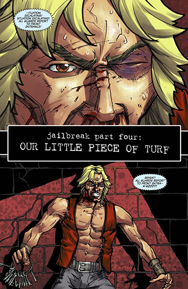 click for super-sized previews of The Warriors: Jailbreak #4