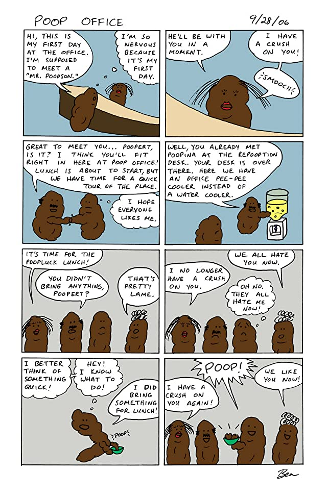 click for super-sized previews of Poop Office #1