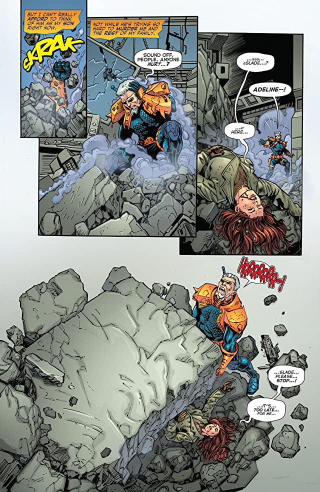 click for super-sized previews of Deathstroke (2011-2013) #20