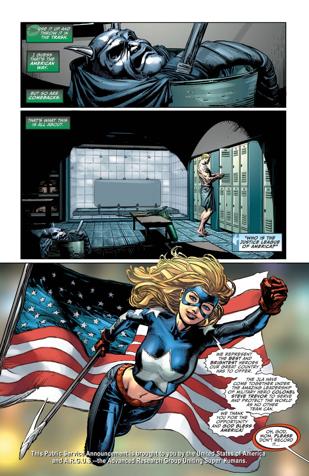 Justice League of America (2013-2015) #3