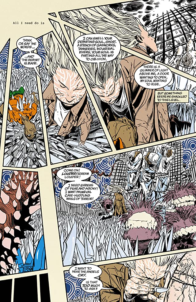 click for super-sized previews of Shade, the Changing Man (1990-1996) #35