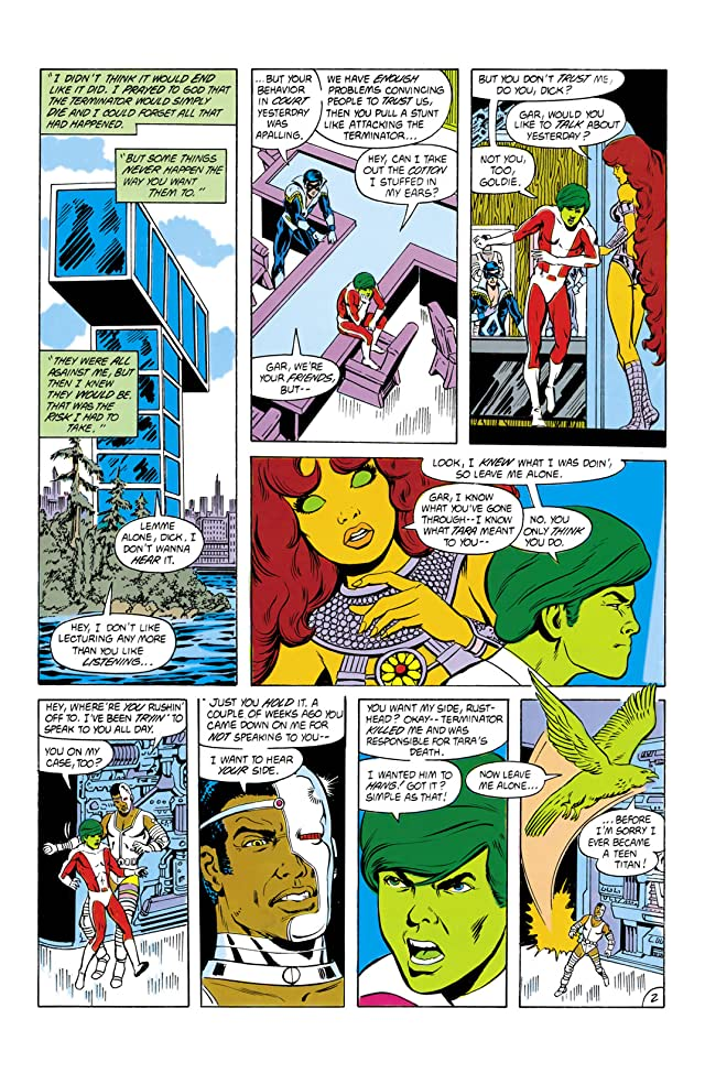 Tales of the Teen Titans (1984-1988) #55