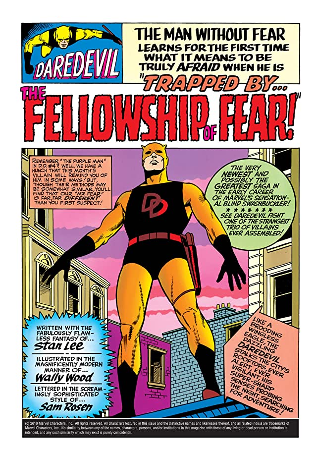 click for super-sized previews of Daredevil (1964-1998) #6