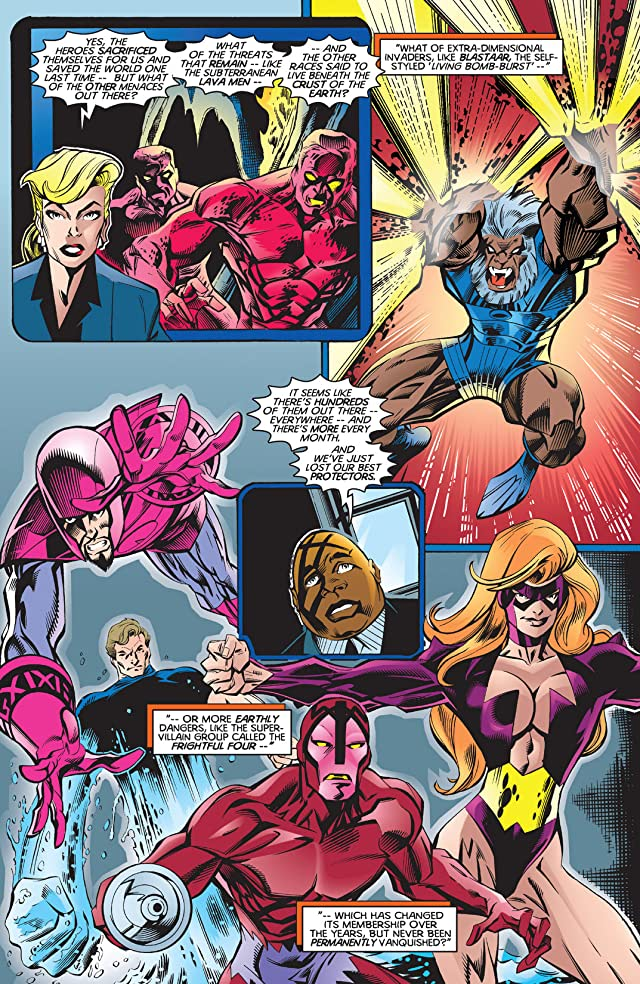 click for super-sized previews of Thunderbolts (1997-2003) #1
