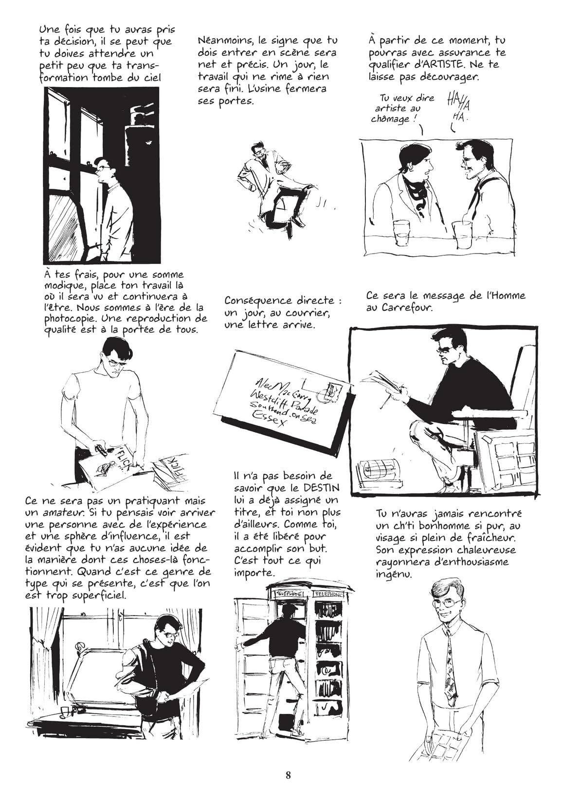 Alec Vol. 3: Comment devenir artiste