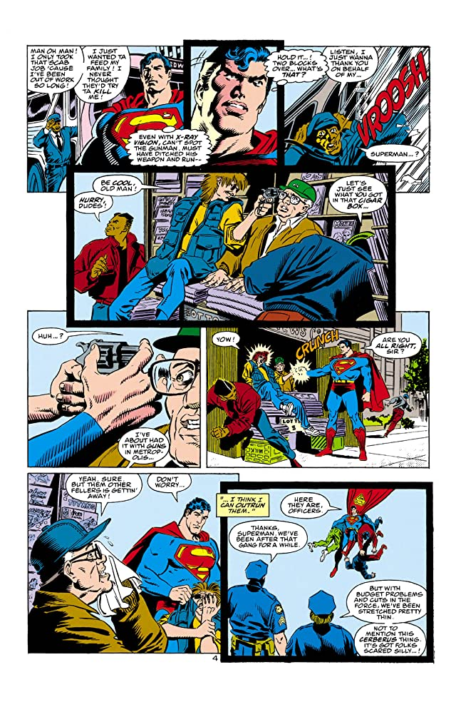 click for super-sized previews of Superman: The Man of Steel (1991-2003) #1