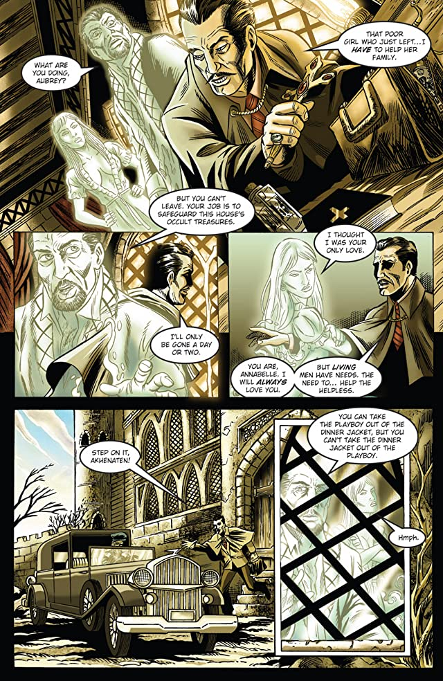 click for super-sized previews of Vincent Price Presents #37