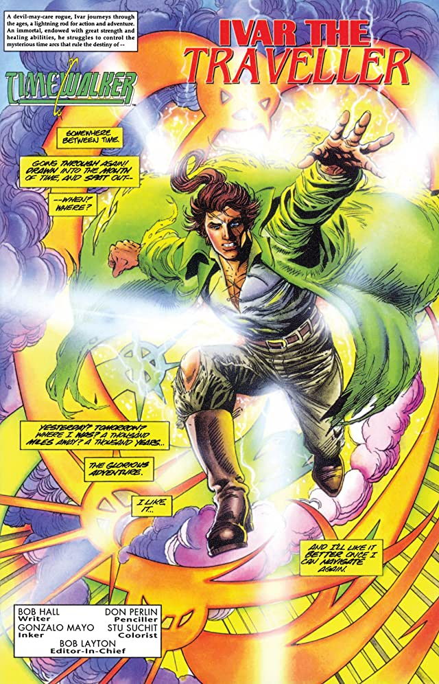 click for super-sized previews of Timewalker #1