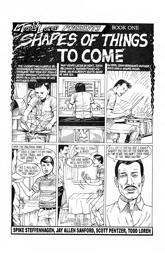 click for super-sized previews of Rock N Roll Comics: Led Zeppelin